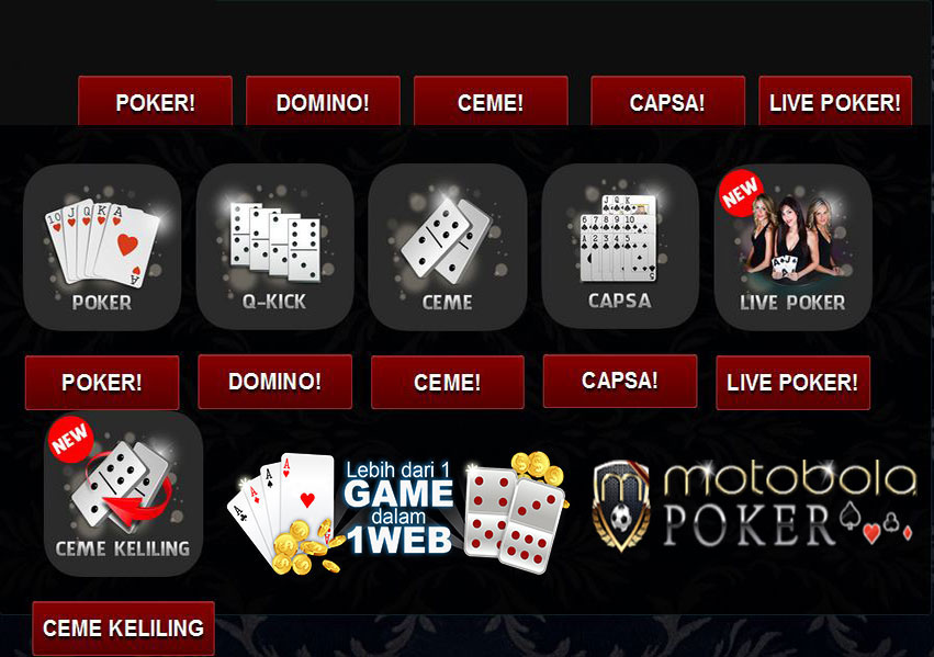 Download Domino Gaple Gratis di Agen Judi Terpercaya